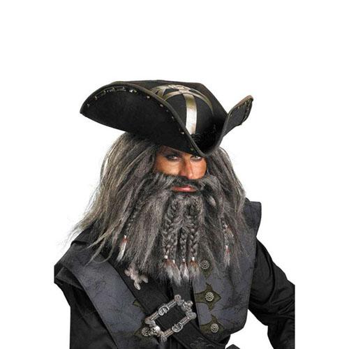 Blackbeard Deluxe Hat Adult