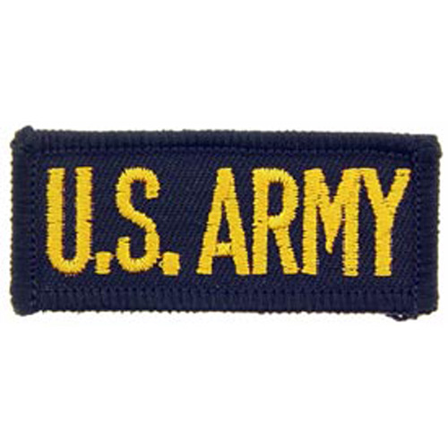 Patch-Army Tab Us.Army Sm