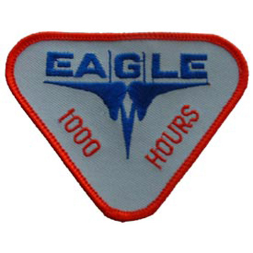 Patch-Usaf Eagle 1000 Hrs