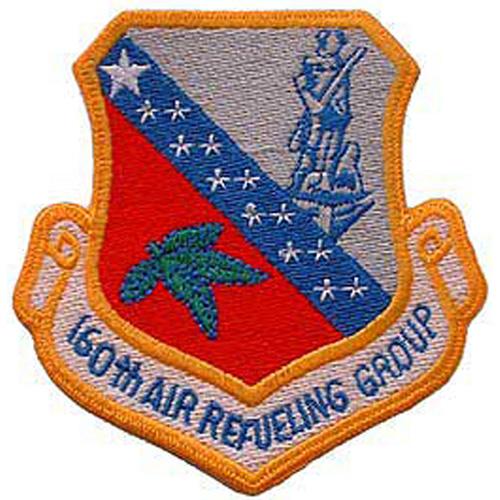 Patch-Usaf 160th Air Refl