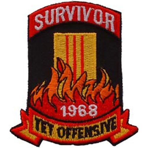 Patch-Vietnam Tet Ofensiv