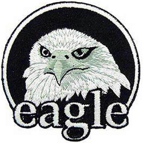 Patch-Usa Eagle Head-