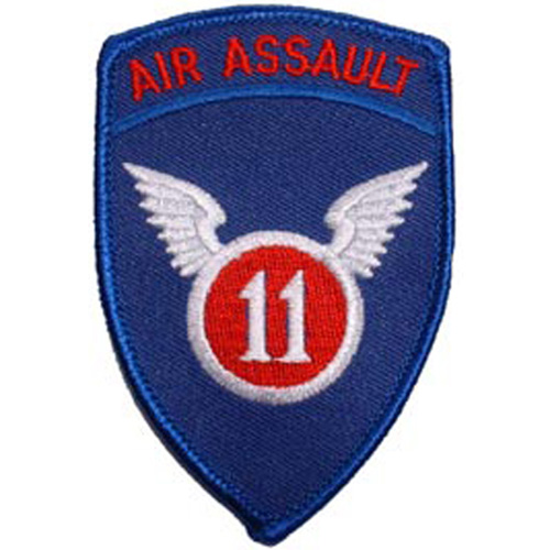 Patch-Army 011th Air Aslt