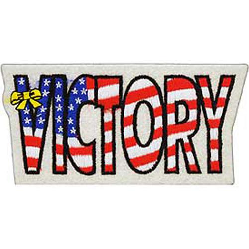 Patch-Usa Victory Ylw.Rib