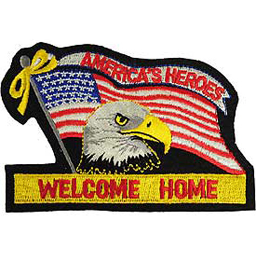 Patch-Flag Usa Eagle