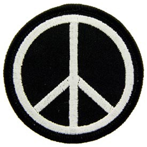 Patch-Peace Sign