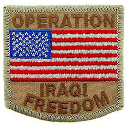 Patch-Iraqi Freed.Usa