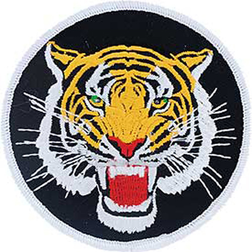 Patch-Tiger Head