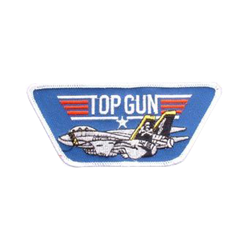 Top Gun With Jet Patch-Usn