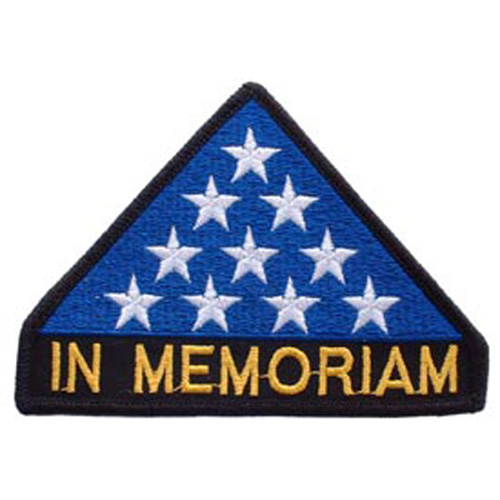 Patch-Flag In Memoriam