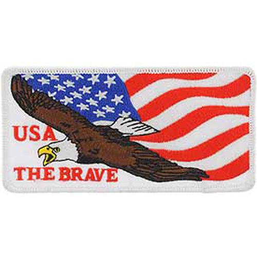 Patch-Usa Eagle Blk