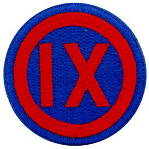 Patch-Army 009th Corps