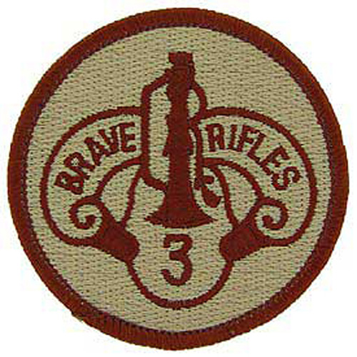 Patch-Army 003rd Arm.Cav.