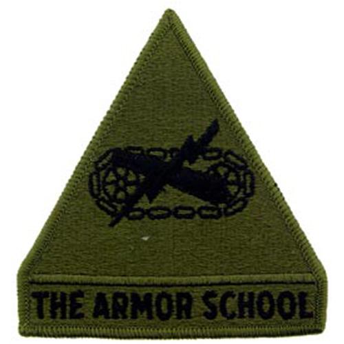Patch-Army Armor School