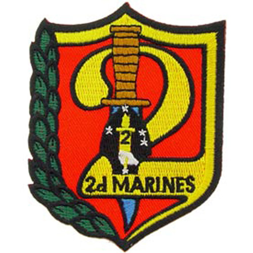 Patch-Usmc 02nd Mar. Rgt.