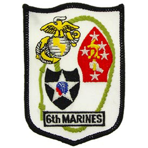 Patch-Usmc 06th Mar. Rgt.