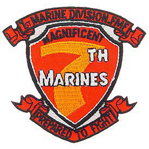 Patch-Usmc 07th Mar. Rgt.