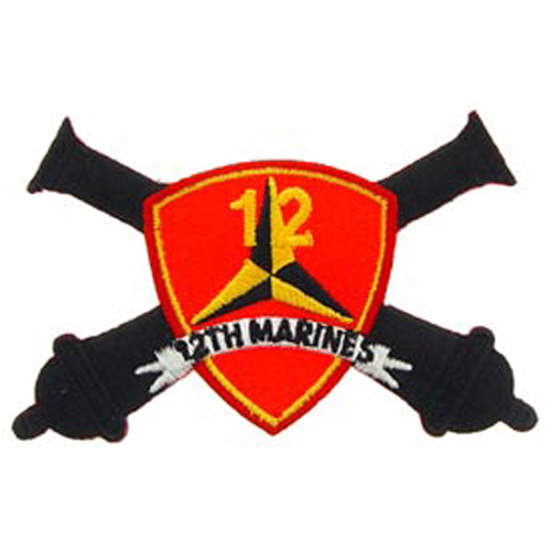 Patch-Usmc 12th Mar. Rgt.