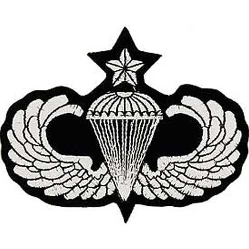 Patch-Army Para Wings Sr