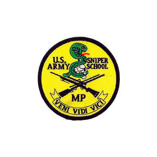 Patch-Army Sniper School
