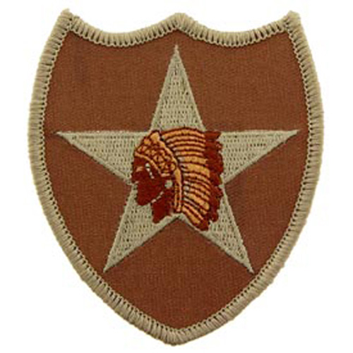 Patch-Army 002nd Inf.Div.