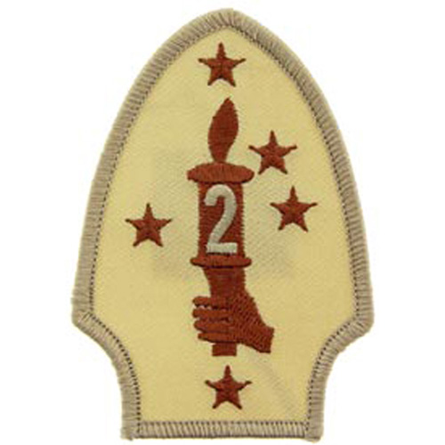 Patch-Usmc 02nd Div