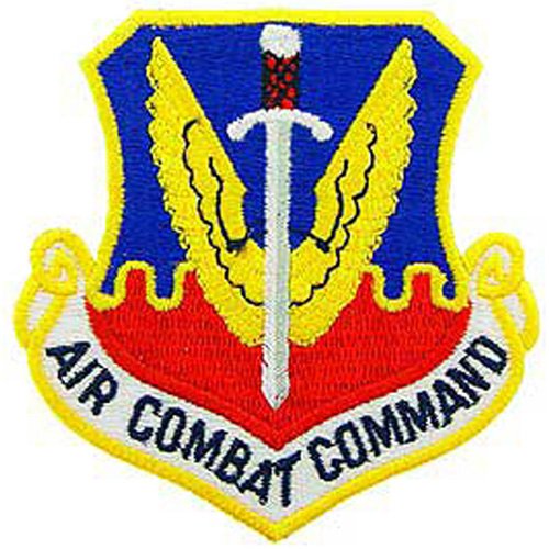 Patch-Usaf Air Combat Cmd