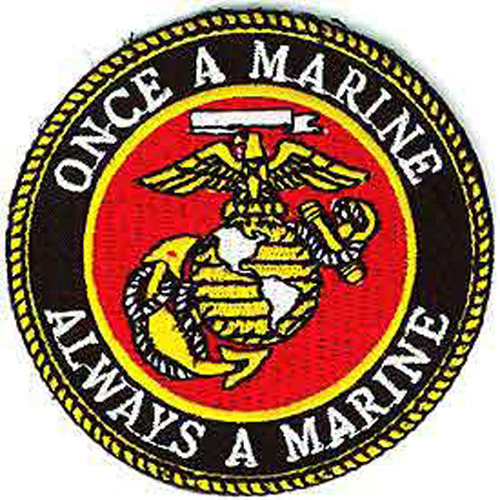Patch-Usmc Logo Once A
