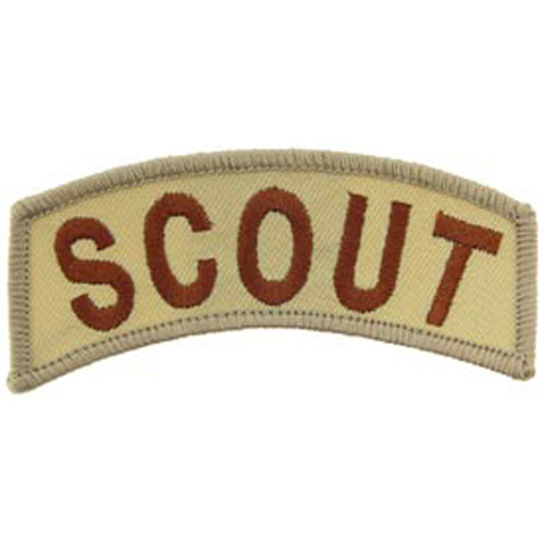 Patch-Army Tab Scout