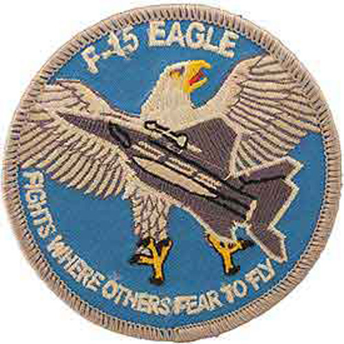 Patch-Usaf F-015 Eagle