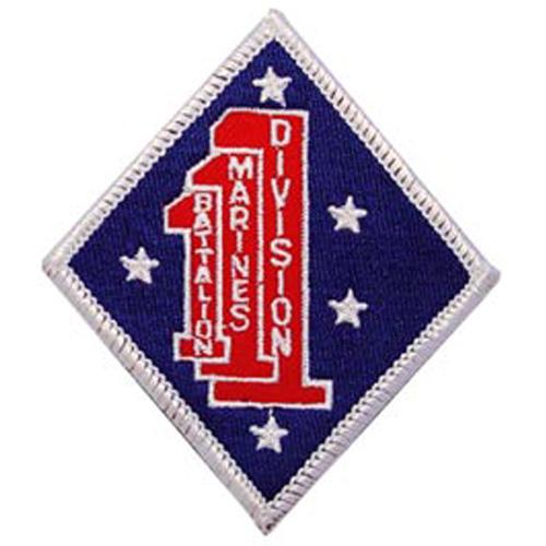 Patch-Usmc 01st Bn 1st