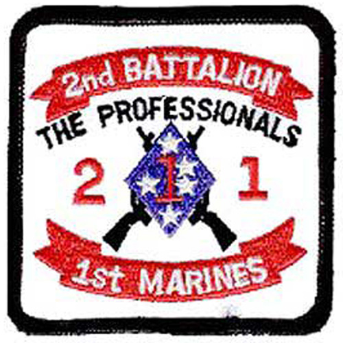 Patch-Usmc 02nd Bn 1st
