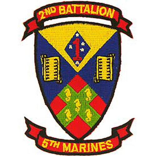 Patch-Usmc 02nd Bn 5th