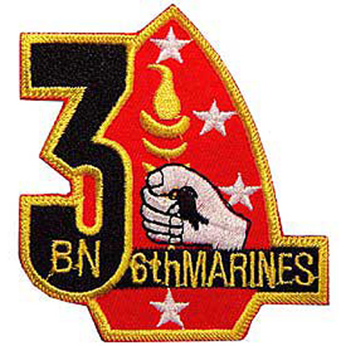 Patch-Usmc 03rd Bn 6th