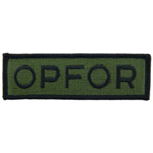 Patch-Army Opfor Tab
