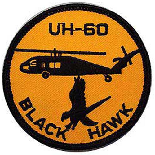 Patch-Hel Uh-60 Blk Hawk