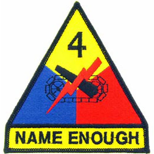 Patch-Army 004th Arm.Div.
