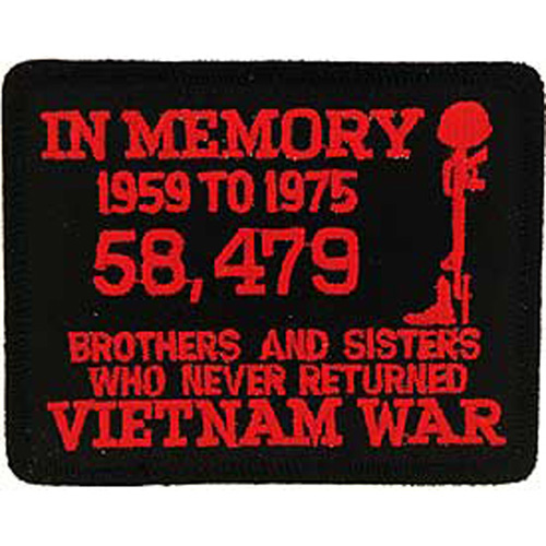 Patch-Vietnam In Memory