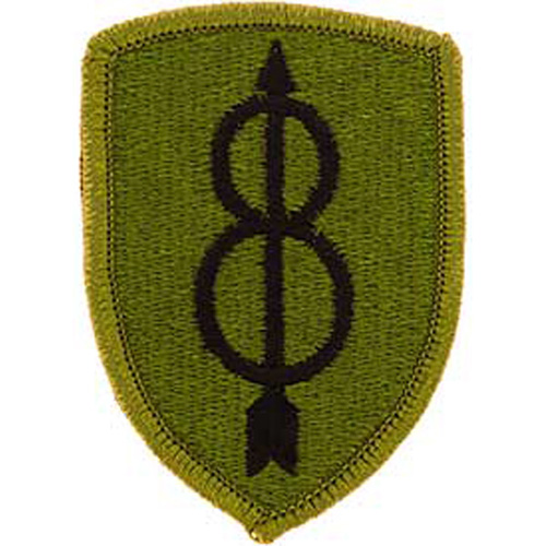 Patch-Army 008th Inf.Div.
