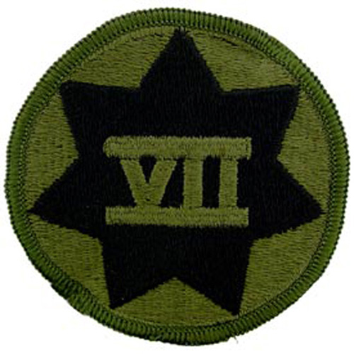 Patch-Army 007th Corps