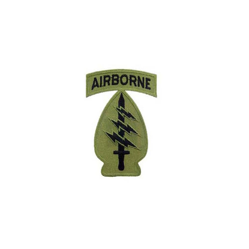 Spec Forces A-B Subdued 3 Inch Patch