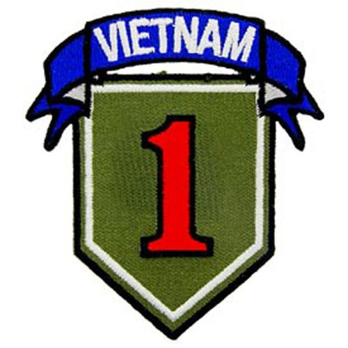 Patch-Vietnam 001st Div.