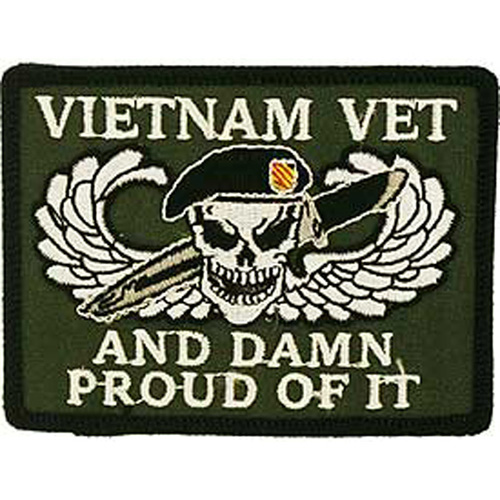Patch-Vietnam Damn Proud