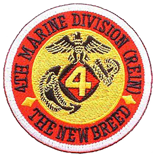 Patch-Usmc 04th Div Rein