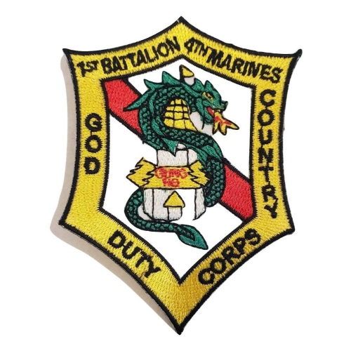 Patch-Usmc 01st Bn 4th