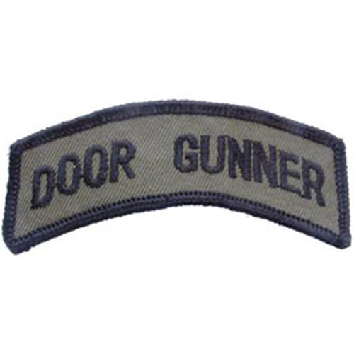 Patch-Army Tab Door Gunn
