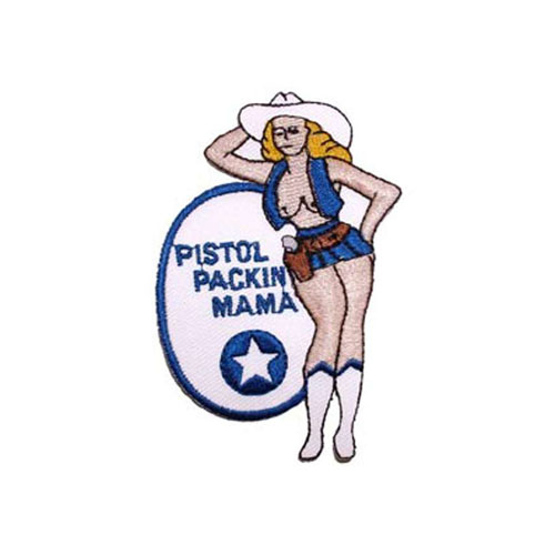 Patch-Nose Art Pistol Packin