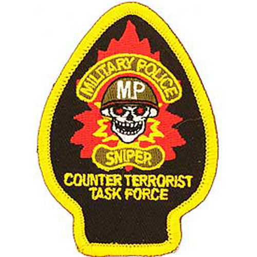 Patch-Military Police Spd