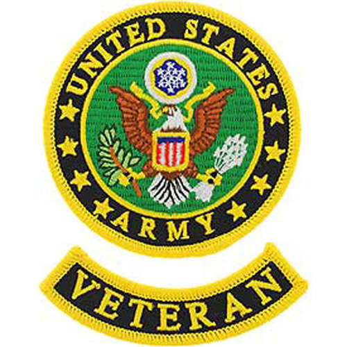 Patch-Army Logo Veteran