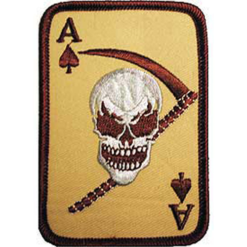 Patch-Death Ace Spade